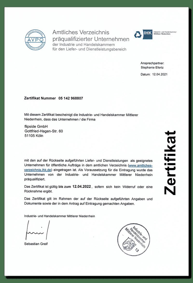 Zertifikat_AVPQ